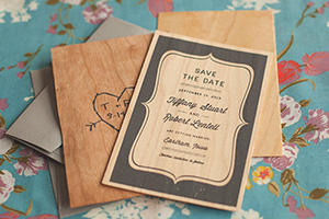 Des Moines Iowa Wedding Stationery Design