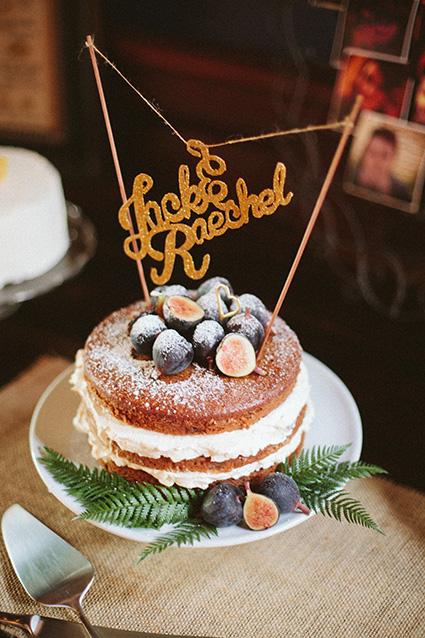 Spiced Fig Wedding Cake